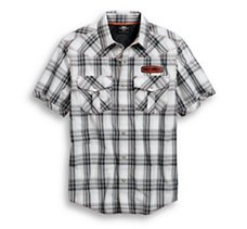 Performance Plaid Vented Shirt