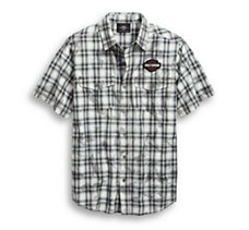 Winged Logo Plaid Shirt