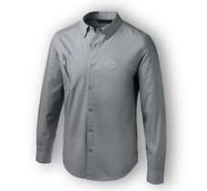 Angled Pocket Stretch Shirt