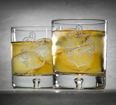 Set of 2 Rocks Glasses