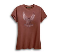 Flocked Eagle Tee