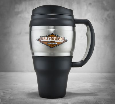 Keg-Style Travel Mug with Handle