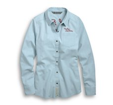 Burn Rubber Chambray Shirt