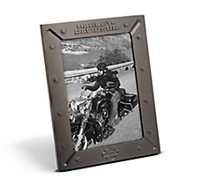 Bolted Gunmetal Photo Frame