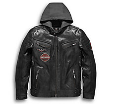 Marmax 3-in-1 Leather Jacket