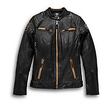 Maize Leather Jacket