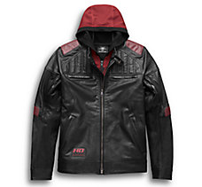 Donhill 3-in-1 Leather Jacket