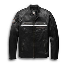 Llano Perforated Leather Jacket