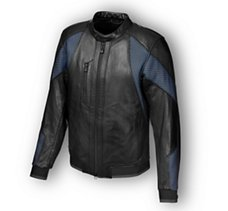 woodway Mesh & Leather Jacket
