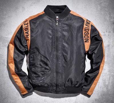 Bar & Shield Nylon Jacket