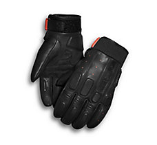 Geyser Perforated Leather Gloves