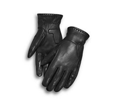Thayne Perforated Leather Gloves