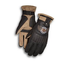 Maize Touchscreen Leather Gloves