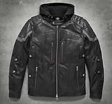 Men's Leather Motorcycle Jackets | Harley-Davidson USA