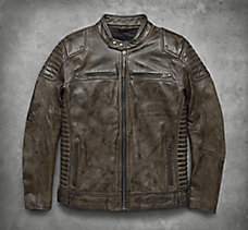 Hamilten Washed Leather Jacket