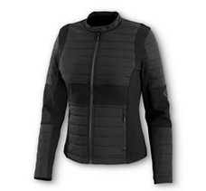 Quilted Compression Knit Jacket