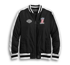 Retro Racer Bomber Jacket