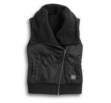 Reversible Sherpa Fleece Vest