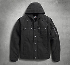 Grind Hooded Workwear Jacket