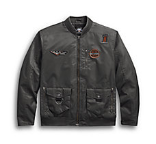 Checkered Flag Eagle Bomber