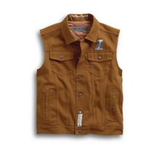 Quilted Lining Slim Fit Vest