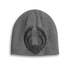 Reversible Winged Logo Knit Hat