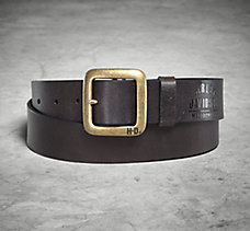 Brass Finish Buckle Belt