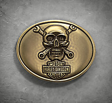 Skull & Wrenches Buckle