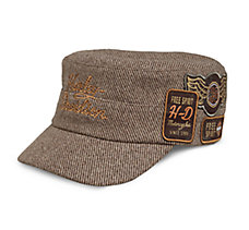 Multi-Patch Flat Top Cap