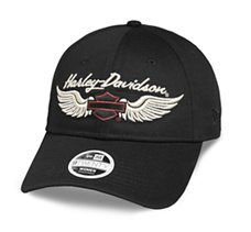 Embroidered Winged Logo Cap