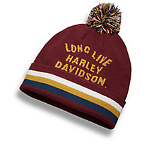 Long Live Pom Knit Hat