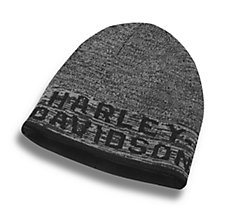 Reversible Heathered Knit Hat