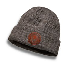 Fleece Lined Open Knit Hat