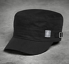 Quilted Flat Top Cap