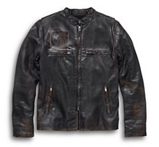 Speed Distressed Leather Jacket