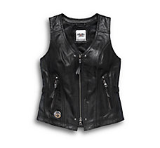 115th Anniversary Leather Vest