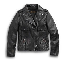 Wild Distressed Leather Biker