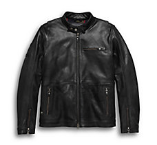 #1 Skull Slim Fit Leather Jacket