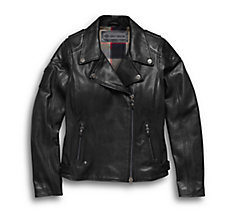 Alameda Leather Biker Jacket