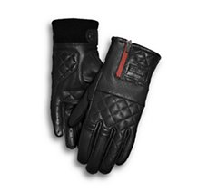Excursion Quilted Leather Gloves