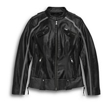 Hairpin Leather Jacket