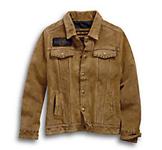 Gauges Suede Leather Jacket