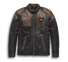 65e31243fed11 Men's Leather Motorcycle Jackets | Harley-Davidson USA