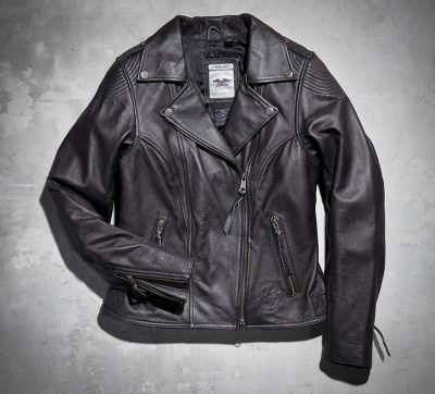 Legacy Leather Biker Jacket