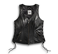 Avenue Leather Vest