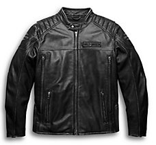 Midway Distressed Leather Jacket