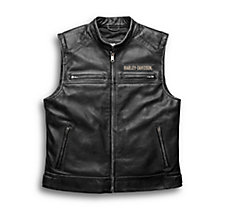 Passing Link Leather Vest