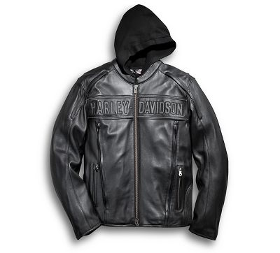 Road Warrior 3-in-1 Leather Jacket