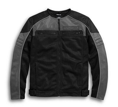 Toil Collarless Mesh Jacket