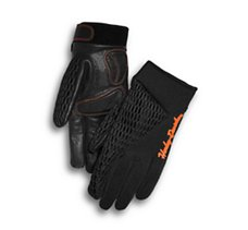 Osminda Mesh & Leather Gloves